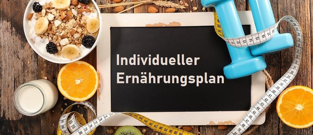 individueller ernärhrungsplan erstellen lassen