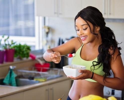 ernährungsplan von einer frau zum zunehmen